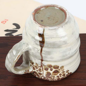Buncheong Large Brown Tree Ceramic Mug