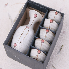 Load image into Gallery viewer, Buncheong Red Fruit Sake Set