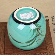 Load image into Gallery viewer, Porcelain Tea Jar