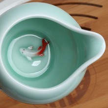 Load image into Gallery viewer, Koi Fish Sukwoo Pitcher