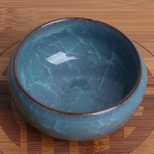 Load image into Gallery viewer, Icy Crackle Ceramic Dish