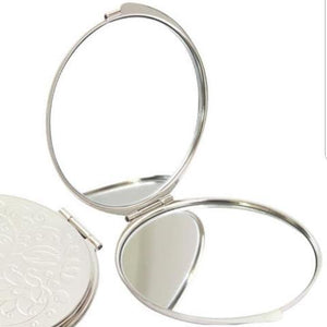 Mother of Pearl Compact Mirror - Jogakbo