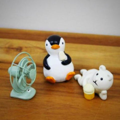 Penguin and Polar Bear figurines