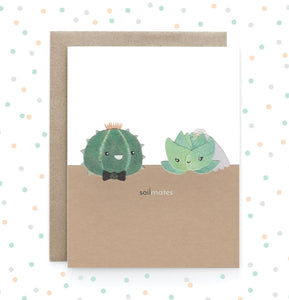 Soil Mates - Greeting Card