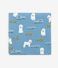 Load image into Gallery viewer, Handkerchief - Bichon Frise Blue