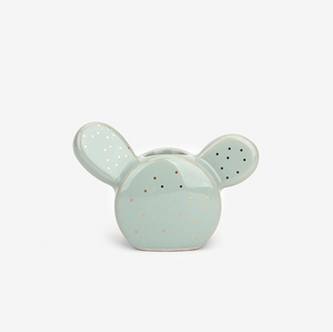 Mint Cactus Toothbrush Holder