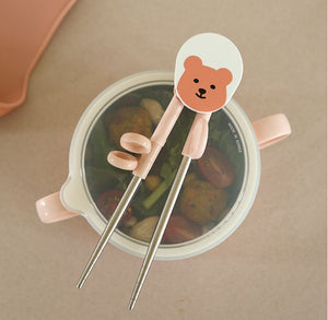 Training Chopsticks - Peach