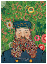 Load image into Gallery viewer, Van Gogh's Postman Postcard