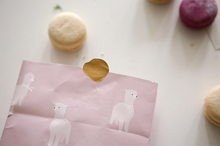 Load image into Gallery viewer, Alpaca Pattern Paper Bag