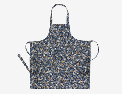 Basic Apron - Azure Leaf