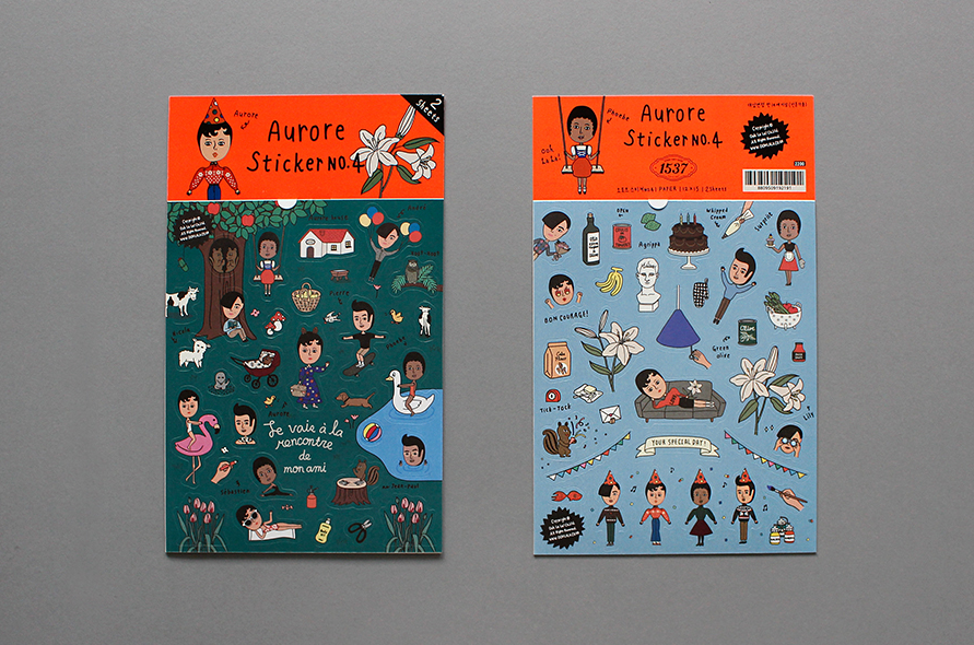 Aurore Sticker Set No. 4