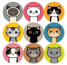 Load image into Gallery viewer, Lovely Cat Stickers