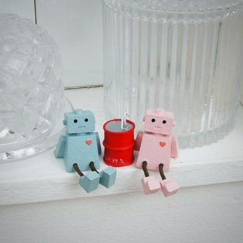 Love Robots Figurines
