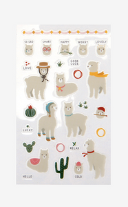 Daily Sticker - Alpaca