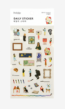 Load image into Gallery viewer, Daily Sticker - Art Museum