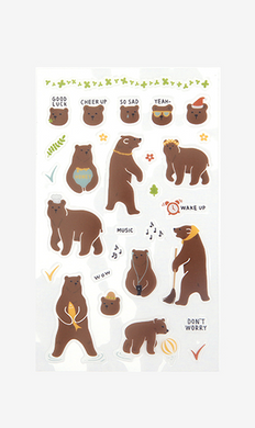 Daily Sticker - Bear