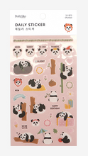 Load image into Gallery viewer, Daily Sticker - Panda