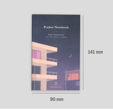 Load image into Gallery viewer, Plain Pocket Notebook - Evening