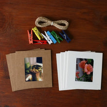 Load image into Gallery viewer, Mini Paper Frame Deco Set