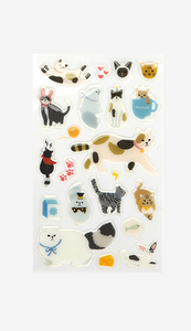 Epoxy Stickers - Cats