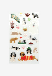 Epoxy Stickers - Dogs