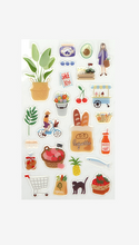 Load image into Gallery viewer, Epoxy Stickers - Market