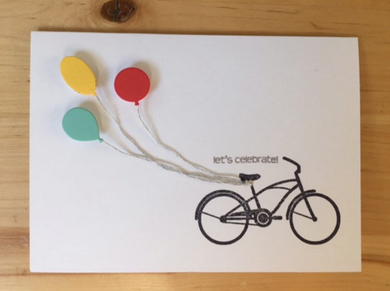 Let's Celebrate - Bicycle Card