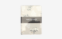 Load image into Gallery viewer, Fabric Covered Notebook - Lace Flower