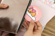 Load image into Gallery viewer, Gudetama Hand Mirror - Dress Up