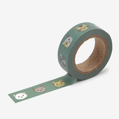 Friendly Kitty Washi Tape - 157