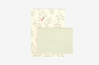 Flamingo Letter Set