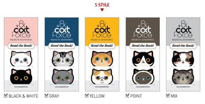 Cat Face Magnetic Bookmarks