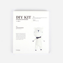 Load image into Gallery viewer, Terry Cloth Bear DIY Kit