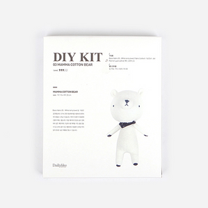 Terry Cloth Bear DIY Kit