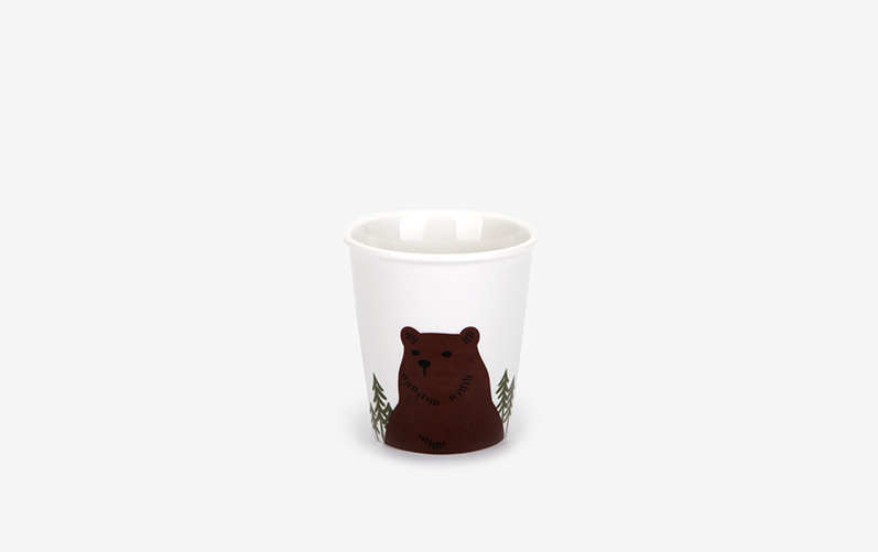 Morning Cup - Bear