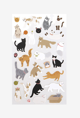 Cat Paper Sticker