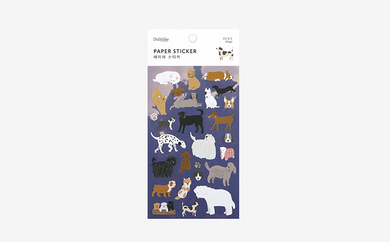Dog Paper Sticker