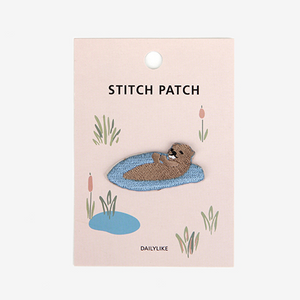 Iron-On Patch - Otter