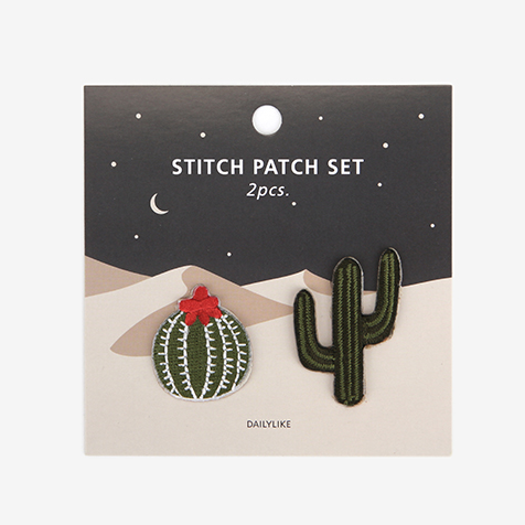 Iron-On Patch Set - Cactus
