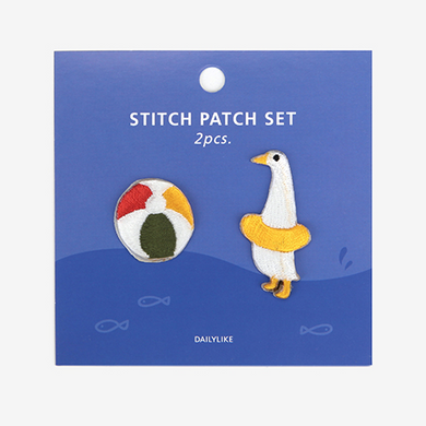 Iron-On Patch Set - Goose