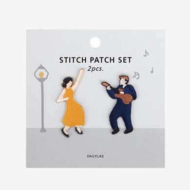 Iron-On Patch Set - Jazz