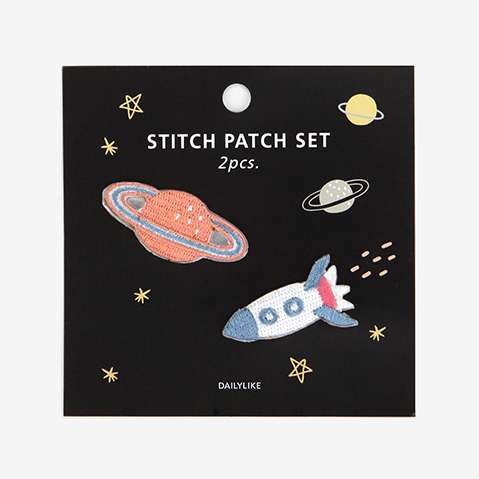 Iron-On Patch Set - Universe