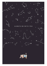 Always Be With You Postcard
