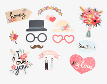 Load image into Gallery viewer, Wedding Photo Prop Kit