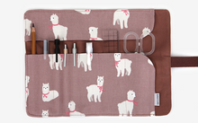Load image into Gallery viewer, Alpaca Rolling Pen Case