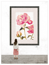 Load image into Gallery viewer, Rose Portrait Postcard