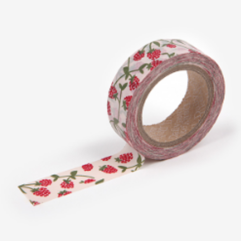 Raspberry Washi Tape - 24