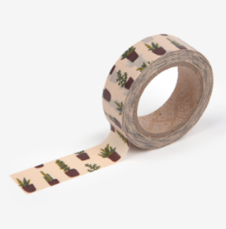 Succulent Washi Tape - 30
