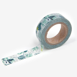 In the Tropics Leaf Washi Tape - 35