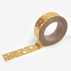 Gold Starry Washi Tape - 38